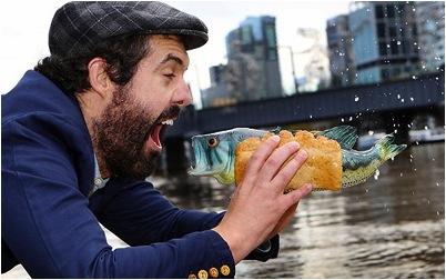 Daniel Moore Fish Burger