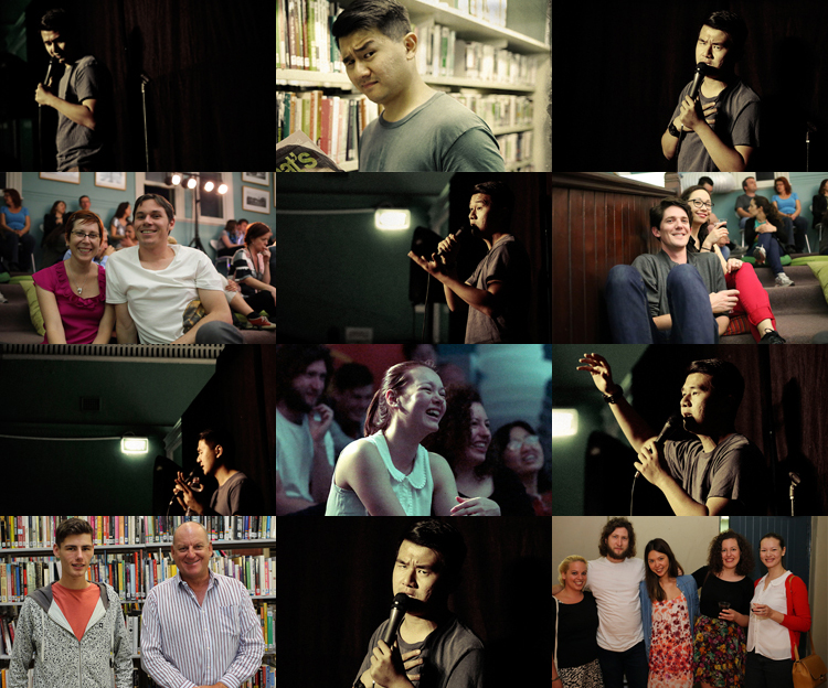 Ronny Chieng Late Night Library